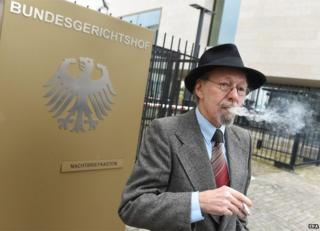 Friedhelm Adolfs outside court, 18 Feb 15