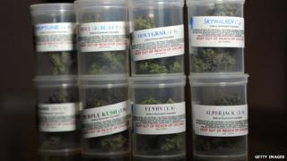 Medicinal cannabis sold in Los Angeles before a 2012 ban