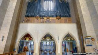 Guildford Cathedral organ