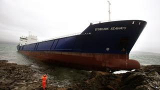 An Lysblink Seaways air na creagan
