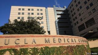 UCLA's Ronald Reagan Medical Center in Los Angeles