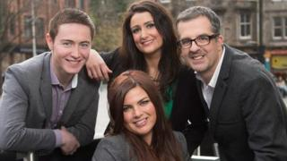 STV Edinburgh team