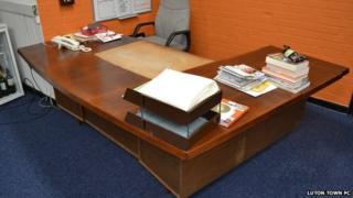 Luton Town executive desk