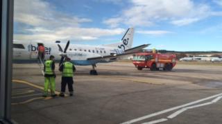 aeroplane at Aberdeen
