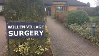 Willen Village surgery