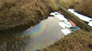 Erewash oil spill