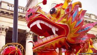 Chinese New Year Celebrations in London
