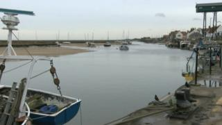 Wells-next-the-Sea quay