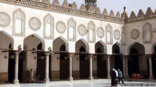 The al-Azhar University in Egypt