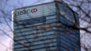 HSBC's London headquarters
