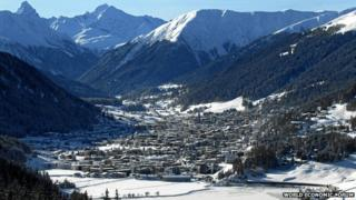 Davos in Switzerland