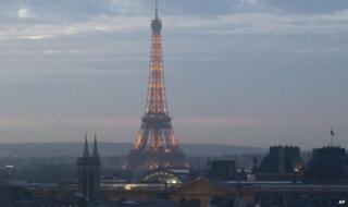 Eiffel Tower (file pic)