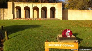 Soldiers' Corner, Arnos Vale Cemetery