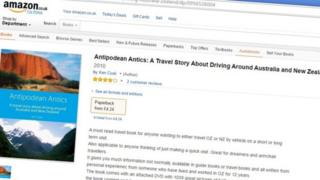 Antipodean Antics on Amazon