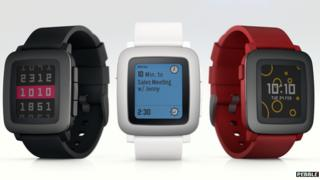 New Pebble watch