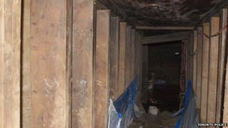 Image of underground site
