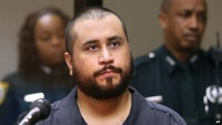 George Zimmerman listens in court, during his hearing on charges including aggravated assault stemming from a fight with his girlfriend 19 November 2013