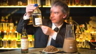Prof Martin Tangney with biobutanol