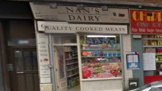 Nan's Dairy on Shettleston Road