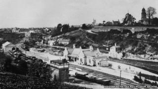 Bridgnorth, Shropshire, 1880s (image: Kidderminster Railway Museum Archive)
