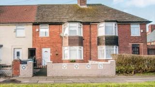 Paul McCartney's childhood home in Speke, Liverpool