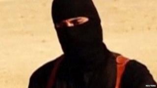 Jihadi John seen in Islamic State video