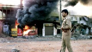 File picture of Gujarat riots