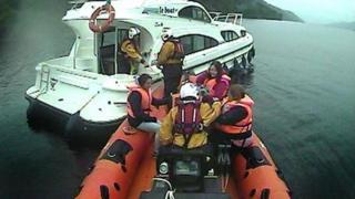 Bàta-teasairginn Loch Nis