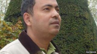 Avijit Roy, picture from 2012 from Facebook