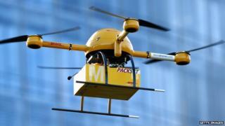 Deutsche Post parcel drones