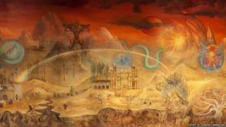 El mundo mágico de los mayas (detail), 1964