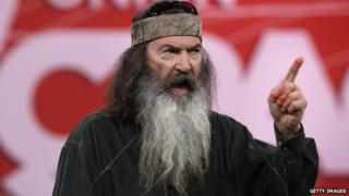 Duck Dynasty's Phil Robertson speaks at CPAC.