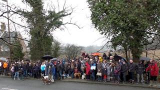 Broadbridge Heath protest