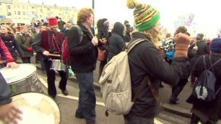 Margate protest