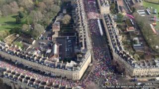 Bath Half Marathon 2015