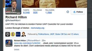 Richard Hilton tweet