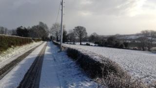 Derry snow