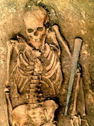 Yamnaya burial