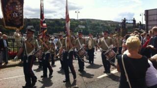Apprentice Boys parade in Derry
