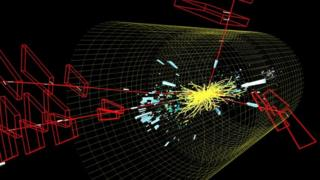Higgs event at LHC