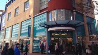 Poundland in Birmingham