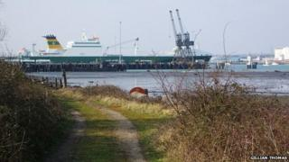 Marchwood Military Port Pier