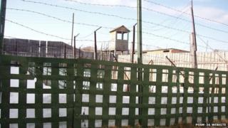 Perm-36 website - fencing