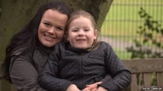 Katie Camplin and daughter Faye