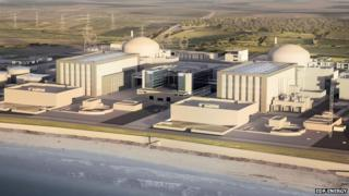 Hinkley power station image