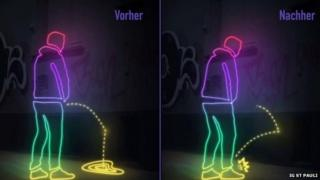 This graphic shows how the paint works and causes splash-back