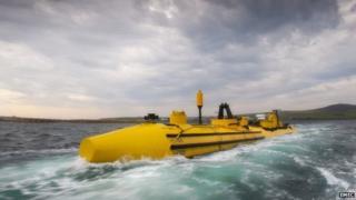 Scottish Renewable tidal turbine