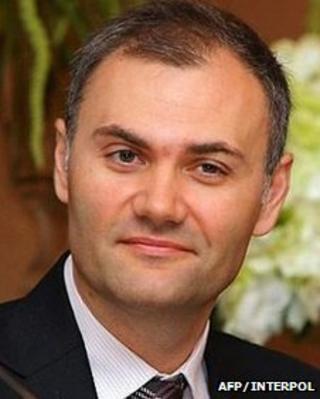 Interpol photograph of Yuri Kolobov
