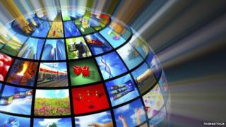 Image of media globe