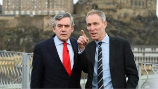 Gordon Brown and Jim Murphy